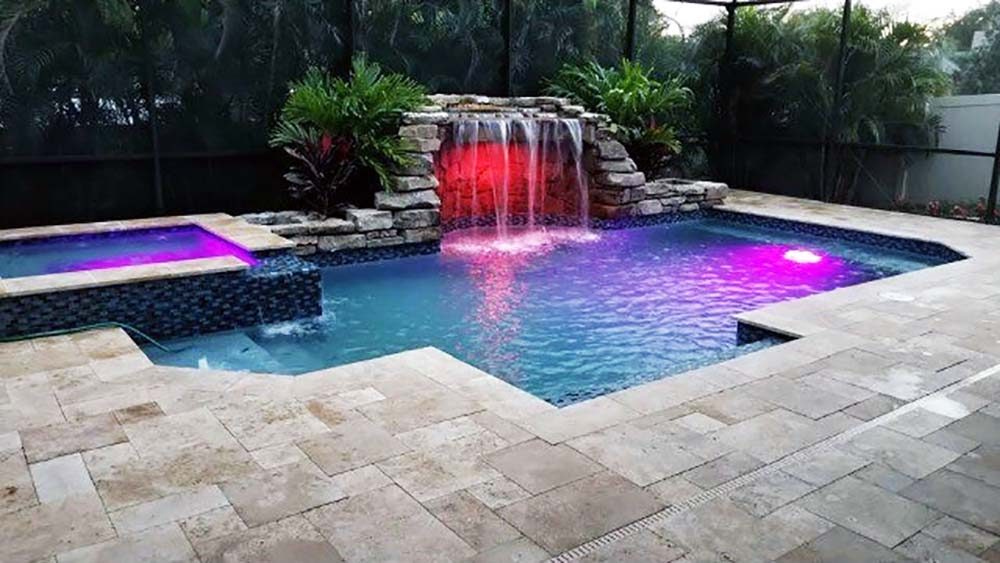 Custom Pool Grotto by Waterscapes 8